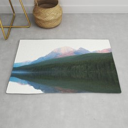 White mountain Rug