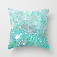 Marble Art V 17 #society6 #decor #buyart #lifestyle Throw Pillow