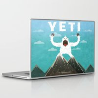 yeti Laptop & iPad Skins featuring Yeti by Artificial primate