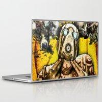 borderlands Laptop & iPad Skins featuring Borderlands Psycho by Joe Misrasi