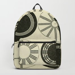 Vintage Astigmatic Chart Backpack