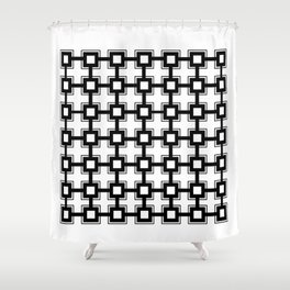 Moonokrom no 9 Shower Curtain