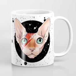 Sphynx Bowie Coffee Mug