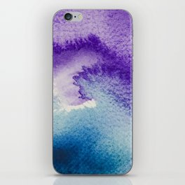 Watercolor texture iPhone Skin