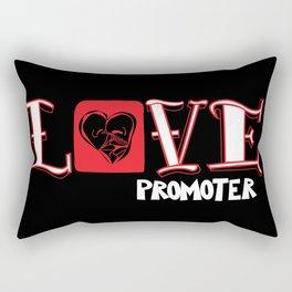 Love Promoter Rectangular Pillow