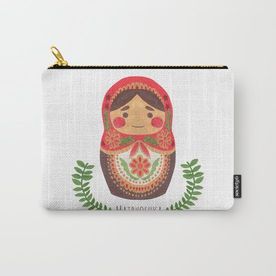 Matryoshka Doll Carry-All Pouch