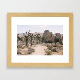 The magical path Framed Art Print