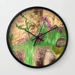 Garden Escape Wall Clock