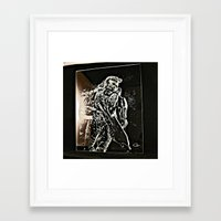 master chief Framed Art Prints featuring Master Chief by Can Dogan