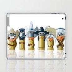 The Toon Bullets (aged version) Laptop & iPad Skin