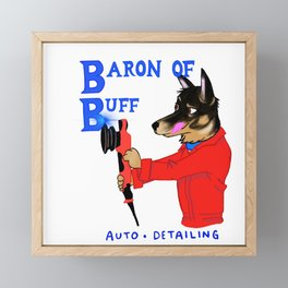 The Baron of Buff Framed Mini Art Print