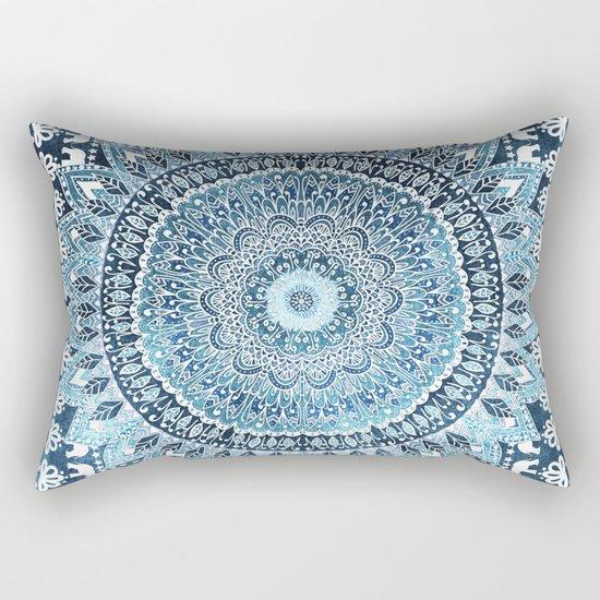 MANDALIKA INDIGO Rectangular Pillow
