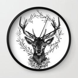 Royal stag Wall Clock