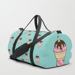 Perfectly Harmless Ice Cream Cone Duffle Bag