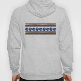 romanian popular pattern Hoody