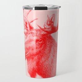 Moose red Travel Mug
