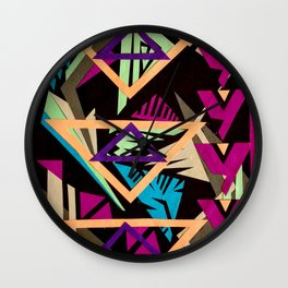 Drawing with Paper: Triad Wall Clock