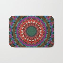 Basal Color Mandala 8 Bath Mat