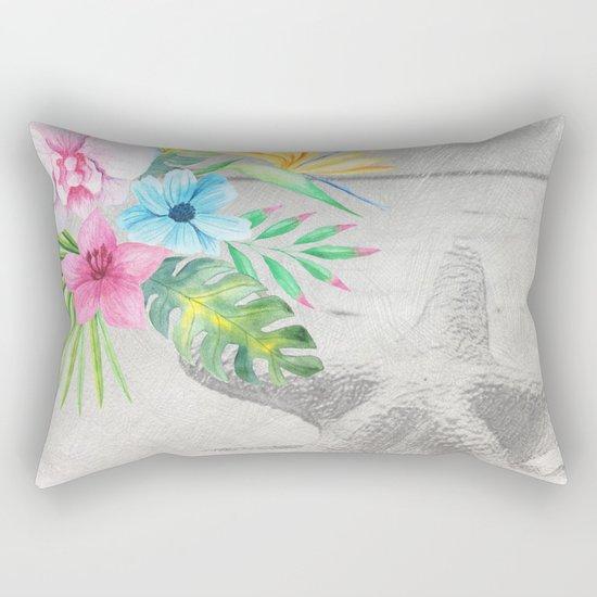 Tropical Beach #2 Rectangular Pillow