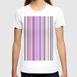 Pink Summer Stripes T-shirt