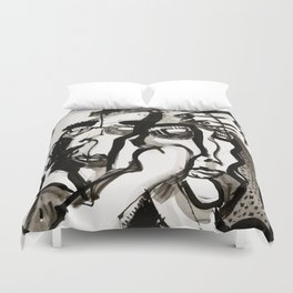 The Two Wonderers Duvet Cover