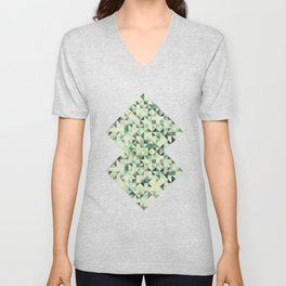 colorful Triangles 2 Unisex V-Neck