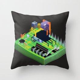 Stimulacrum Throw Pillow