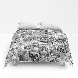 Art in Action Logo Comforters