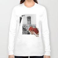 metropolis Long Sleeve T-shirts featuring Metropolis by Lerson