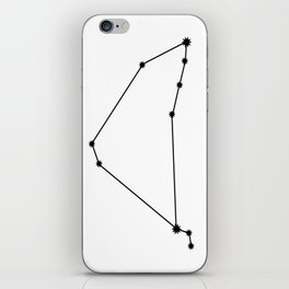 Capricorn Astrology Star Sign Minimal iPhone Skin