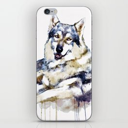 Smiling Wolf iPhone Skin
