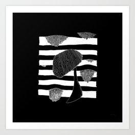 MokoMoko#02 Art Print