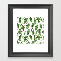 Woodland Foliage Framed Art Print