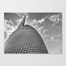 Swan Bell Tower Canvas Print