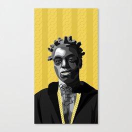 Kodak Black Canvas Print