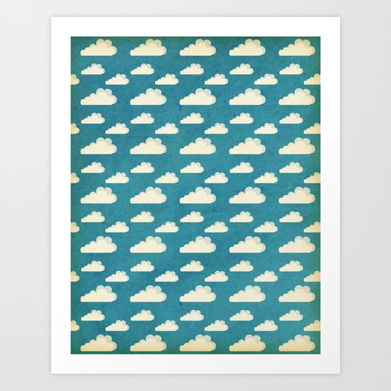 Clouds Art Print
