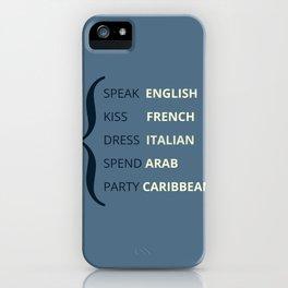 Travel Language  iPhone Case
