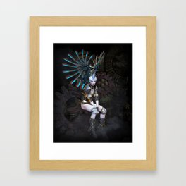 Another Cog in the Wheel Framed Art Print