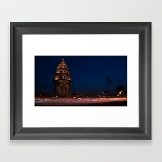Independence Monument, Phnom Penh Framed Art Print