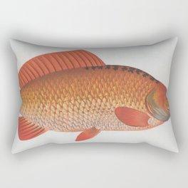 Vintage Illustration of a Goldfish (1785) Rectangular Pillow