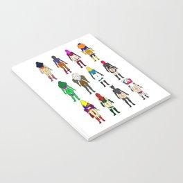 Superhero Butts - Girls Superheroine Butts Notebook