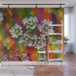 Floral Splash Wall Mural