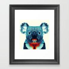 Koala - Colorful Animals Framed Art Print