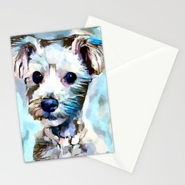 Schnoodle 3 Stationery Cards