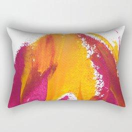Wings Collection orange/pink Rectangular Pillow