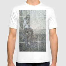 SELF PORTRAIT IN MARBLE Mens Fitted Tee White MEDIUM