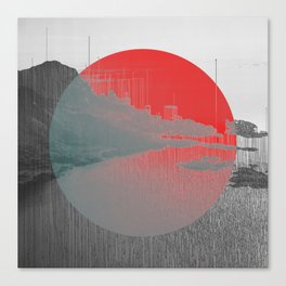 Terraform Canvas Print