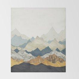 Distant Peaks Throw Blanket