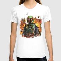 boba fett T-shirts featuring Boba Fett by ururuty
