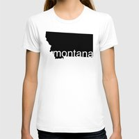 montana T-shirts featuring Montana by Isabel Moreno-Garcia